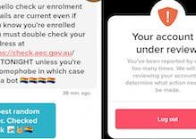 Tinder suspends woman's account for encouraging matches to support marriage equality