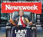 Newsweek's brutal cover will piss off Trump, but the internet loves it