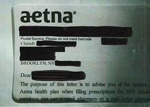A major health insurer outed thousands of customers as HIV positive