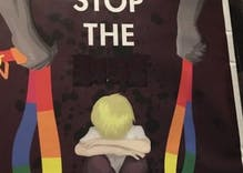 Disgusting antigay posters are showing up in Australia as part of the marriage 'debate'