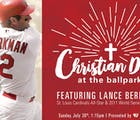 The St. Louis Cardinals denied a gay reporter a press pass for 'Christian Day'