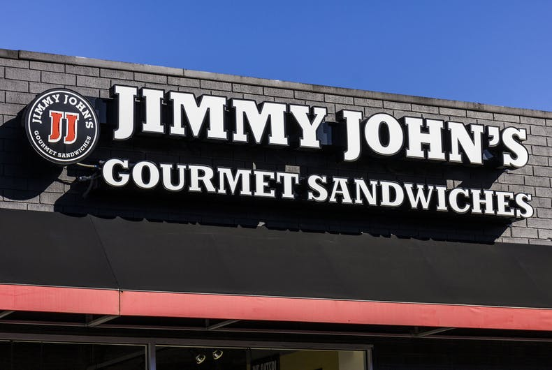 What would you do if you found an antigay slur on your Jimmy John's sandwich wrapper?