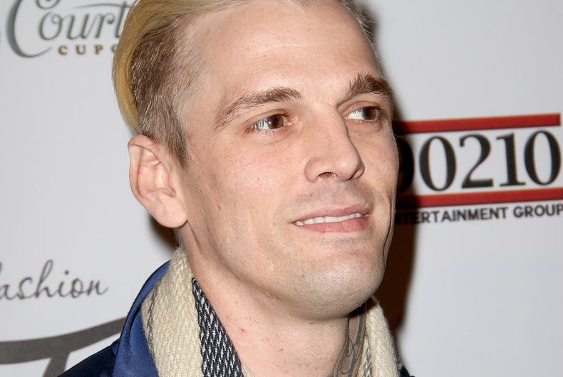 Pop star Aaron Carter comes out