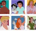 Artist reimagines Disney characters as transgender & it's perfect