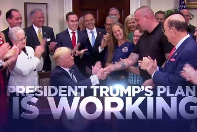 Trump campaign ad