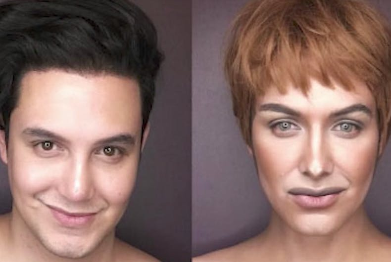 Watch this male artist's transformation into the women of Game Of Thrones