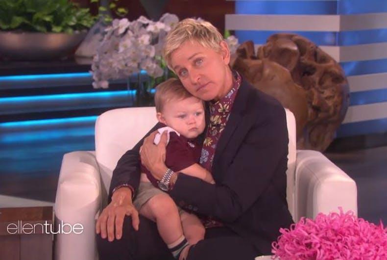 Ellen DeGeneres baby