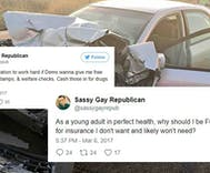 Gay Republican who attacked Obamacare nonstop turns to crowdfunding for medical bills