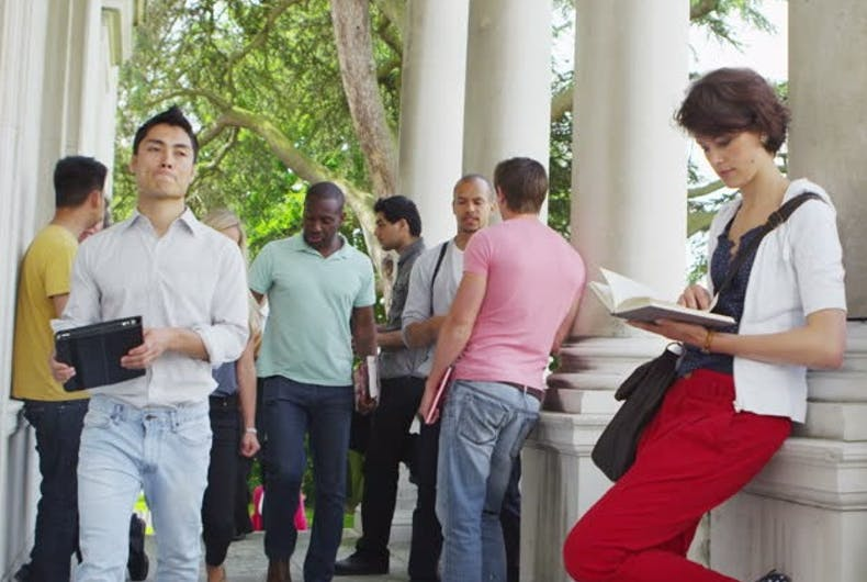 Check out this college scholarship program for LGBTQ student equality