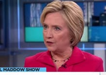 Hillary Clinton thrashes Donald Trump in Rachel Maddow interview