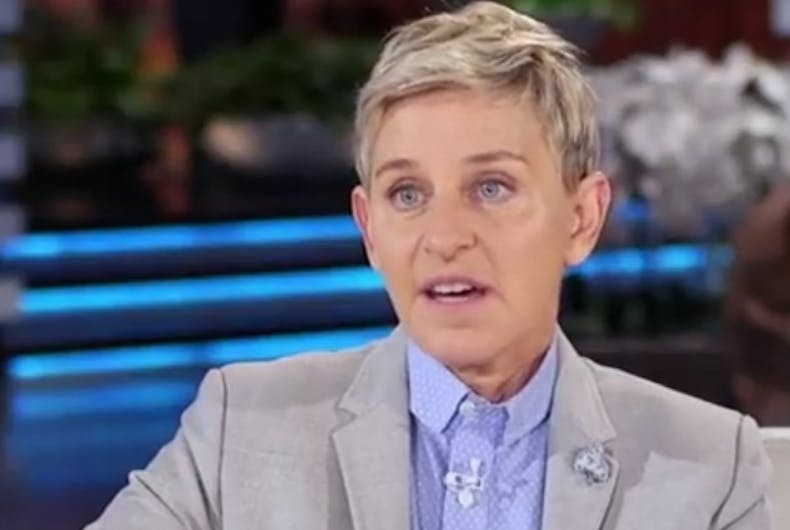 Ellen almost quit comedy after misogynists protested her stand-up act