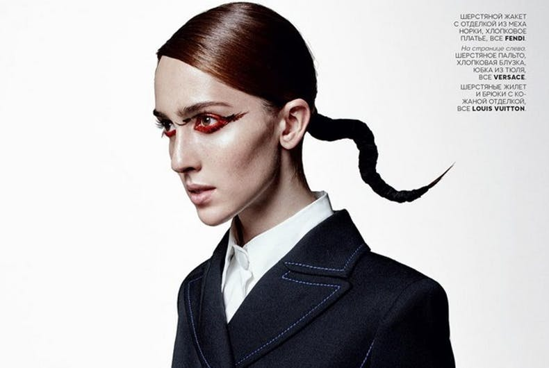 Model Teddy Quinlivan comes out as transgender
