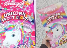 Unicorn Froot Loops are a thing & you can get some in stores now