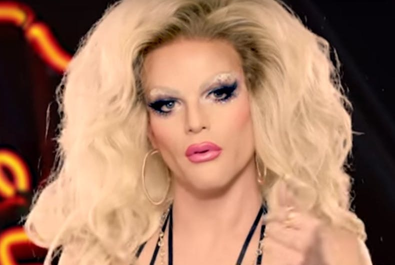 'RuPaul's Drag Race' contestant Willam goes on a transphobic tirade