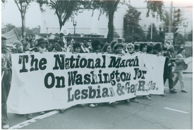 That time in 1979 when 100,000 LGBT people took over Washington to demand civil rights