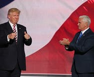 Explosive claim: Trump says Mike Pence 'wants to hang' all gay people
