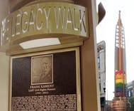Did you know there is an outdoor museum of LGBTQ history?