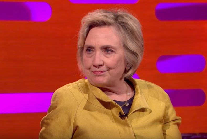 Fox News is morally outraged Hillary Clinton cursed on a late night TV talk show