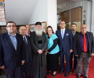 Kim Davis is touring Romania to encourage the government to ban gay rights