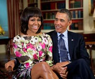 Is this the Obama's new multi-million dollar apartment in NYC?