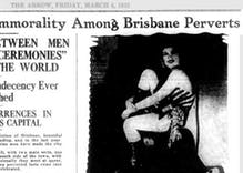 This 1932 headline from Australia foreshadowed the opposition to marriage equality today