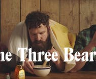 This adorable ad for honey features three bears who don't need Goldilocks
