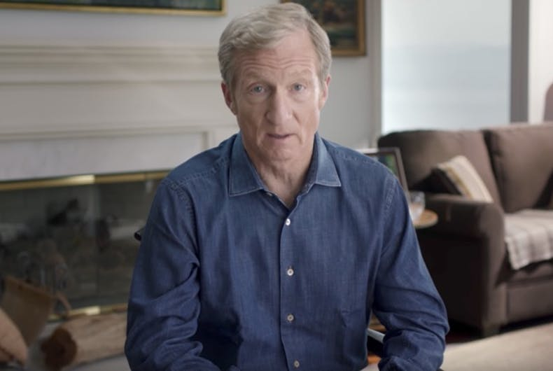 Billionaire launches $10M ad campaign demanding Republicans impeach Trump