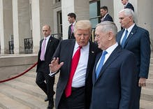 Mattis sends Trump recommendations on trans soldiers. This timeline shows how we got here.