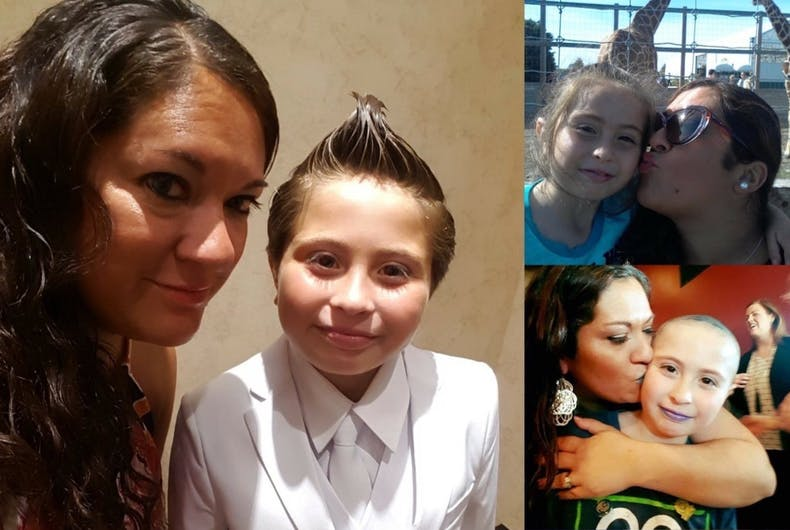 Catholic church denies 9-year-old girl first communion because she wanted to wear a suit