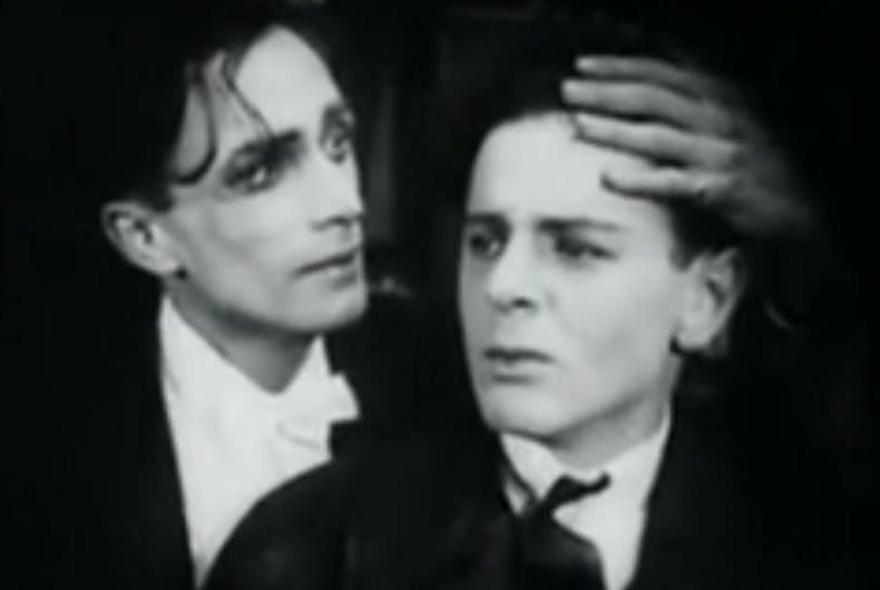 In 1919, the first pro-gay movie was made. A year later, it was banned.