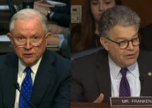 Al Franken destroyed Jeff Sessions in front of Congress over his record on LGBT rights
