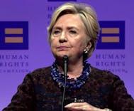 Hillary Clinton trashes Donald Trump on LGBTQ rights
