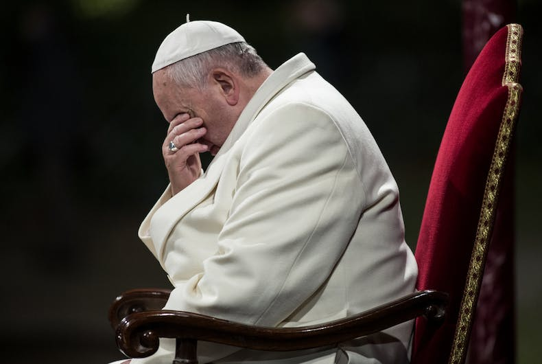 Pope Francis isn't a progressive hero, he's the leader of a gang of bullies