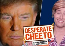 Randy Rainbow's latest hilarious parody turns Despacito into 'desperate Cheeto'