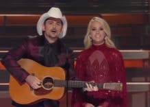 Carrie Underwood & Brad Paisley openly mocked Trump at the CMA Awards show