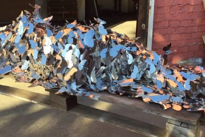 This gorgeous sculpture honoring slain transgender people will be unveiled today