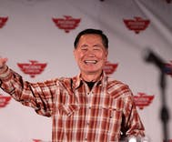 George Takei told Howard Stern he has tried to 'persuade' men in his home