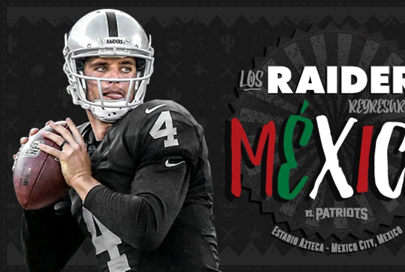 raiders patriots mexico