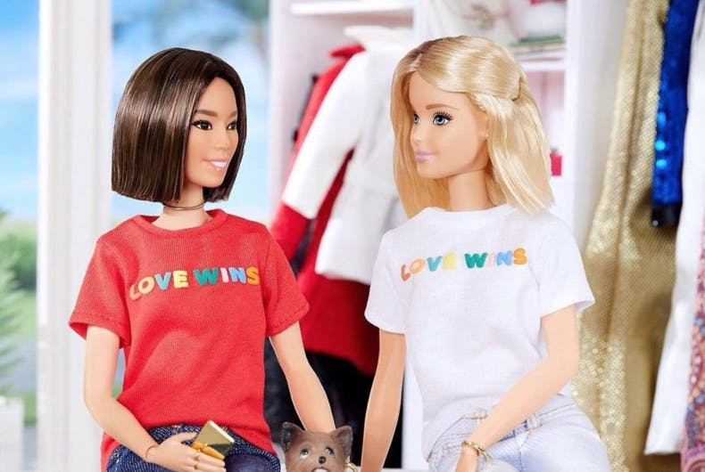 Did Barbie just come out as bi on Instagram?