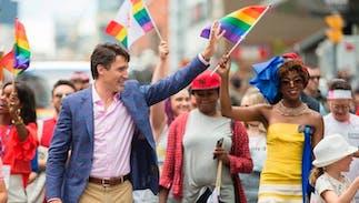 Pride in Pictures 2017: Trudeau & Toronto Pride