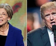 Trump calls Elizabeth Warren 'Pocahontas' at ceremony honoring Navajo war veterans
