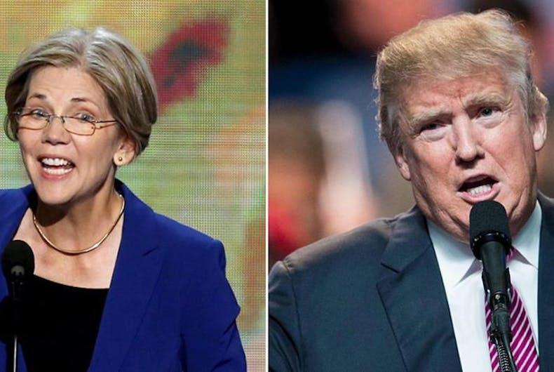 Trump calls Elizabeth Warren 'Pocahontas' at ceremony honoring Navajo war veterans