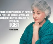 Bea Arthur's homeless LGBT youth residence opens just in time for Christmas