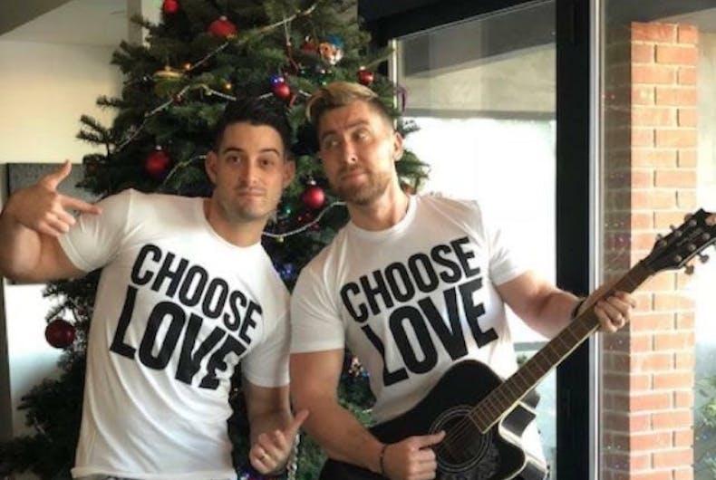 The year Lance Bass saved Christmas