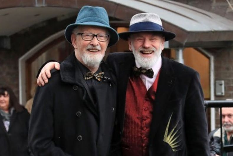 Two straight men got married to avoid paying higher taxes & that's okay
