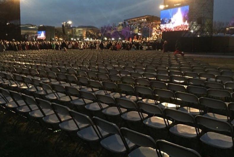 Everyone is mocking Trump's Christmas tree lighting ceremony