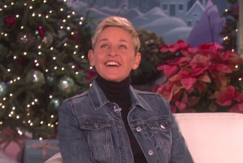 Ellen played Pictionary with a sloth