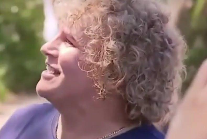 This trans activist gave a Christian conservative Senator a piece of her mind
