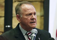 "Roy Moore calls coronavirus measures ""tyranny"" from politicians who don't ""trust in God"""
