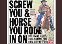 Dept. of Silver Linings 2017: Roy Moore loses a race any idiot could win